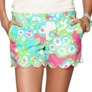 Lilly Pulitzer Buttercup Scallop Short Pink 00